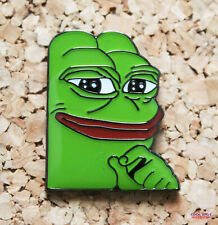 Pepe the Frog - Smug Face - Enamel Pin Badge - UK Dispatch