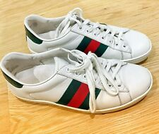 Gucci Ace Leather Men's Sneakers size 5G 39 RRP $775
