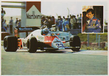 Formula 1 Postcard - Mauro Baldi #23  Alfa Romeo 183T