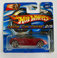 2006 Hotwheels Cadillac Cien Concept Red Very Rare!