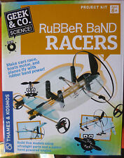 THAMES & KOSMOS RUBBERBAND RACERS SCIENCE KIT