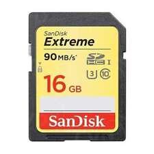 Genuine SANDISK Extreme 16GB 90MB / S SD CARD SDHC Scheda di memoria SDXC CLASSE 10 16 GB