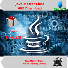 Ultimate Java Master Class Video Training Course 6GB DOWNLOAD + Free Bonus