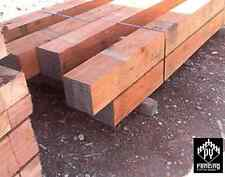 Iron Bark Posts 100 x 100mm Ironbark hardwood Spotted Gum Fencing Decking