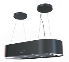 Bergstroem Design extractor cooker hood island hood stainless steelmatt black