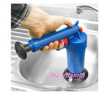 Drain Pump Cleaner Air Power Blaster Unblock Adapters Home Toilet / Wash Basin