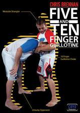 5 & 10 Finger Guillotines DVD w Chris Brennan Nogi BJJ MMA