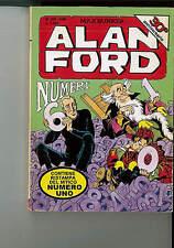 ALAN FORD N. 359 ORIGINALE -  NUMERO DOPPIO CON RISTAMPA DEL N. 1