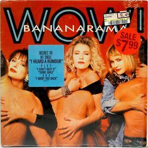 BANANARAMA Wow! 1987 LP Vinyl Record I Heard A Rumour
