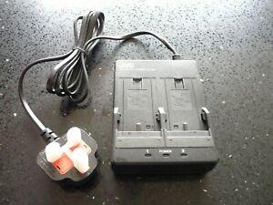 JVC AA-V80EK - Double Power Adapter / Battery Charger 7.2V 1.2A Few Marks