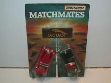 VINTAGE MATCHBOX MATCHMATES JAGUAR MOC 1980s LESNEY