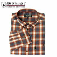 *Deerhunter Milton Shirt - R10 Red/Blue Check Country Hunting Shooting