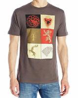 Game Of Thrones STARK TARGARYEN LANNISTER HOUSE SIGILS T-Shirt NWT