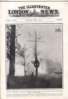 1916 London News April 15 - Portugal fighters; Russians capture Erzerum Armenia