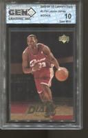 2003-04 Lebron James UD Lebron's Diary #LJ14 Gem Mint 10 RC Rookie LA Lakers