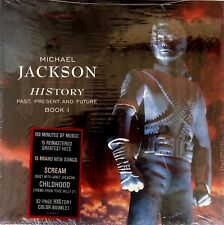 MICHAEL JACKSON HIStory-Past, Present And Future Book 1 VINYL Box 1st Edition