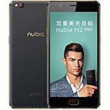 ZTE Nubia m2 Lite 64gb [Dual Sim] [nero senza SIM-lock] bene
