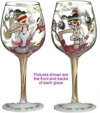 Tennis Lady Party Wine Glass