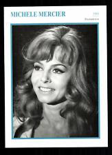 Michele Mercier Star Portrait carta - 80er anni Top + G 21549