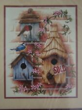 """SUNSET 13715: """" NEW HOME""""  Kit  Broderie  Point de croix"""