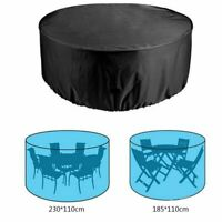 Housse de protection bâche couverture pour Meubles Table Chaises étanches Jardin
