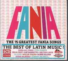 5CDS FANIA Salsa REMASTERED Limited Edition 75 GREATEST HITS Mon Rivera JOE CUBA