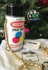 LAST ONE!!! MOSCHINO COUTURE 'Spray Paint Can' Leather Crossbody Bag, NWT