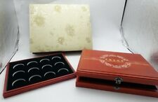 High Quality Wooden Box for 24 Pieces of 40mm Coins
