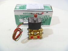 """1/4"""" ASCO EF 8316G301 3-Way Normally Closed 24/DC Solenoid Valve NEW IN BOX"""