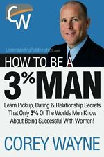 How To Be A 3% Man Book By Corey Wayne English Paperback 270 Pages Love & Roman