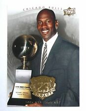 Michael Jordan 2009 Upper Deck GOLD Legacy 1996 NBA Final MVP Basketball card
