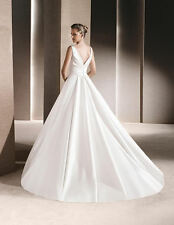 La Sposa Ralea Princess V Neck Wedding Dress