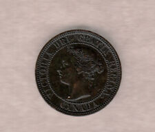 1888 Canadian Victorian Large Cent ~ Very-Fine Condition!