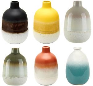 Sass & Belle Mojave Glaze Vases Flower Vase Holder Home Decoration
