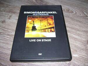 Simon & Garfunkel Old Friends Live on Stage * DVD 2004 Region 0 PAL *