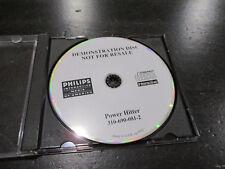 Philips CDI Power Hitter Baseball Demostration Disc Demo Disc Video Game CD-I