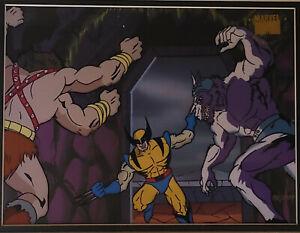 Marvel:X-Men Wolverine Limited Edition Seri Cel Framed- #'d to 1000