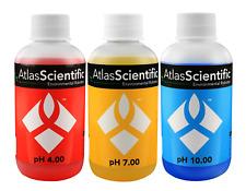 Atlas Scientific pH 4.00, 7.00, 10.00 Calibration Solution 125ml (4oz)