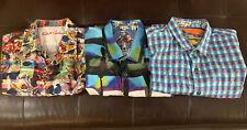 Robert Graham Printed SS Men's Shirts 2XL Lot Of 3