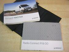 RENAULT MASTER  OWNERS MANUAL HANDBOOK WALLET  2012-2016 SERVICE BOOK M46