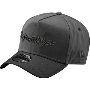 Troy Lee Designs Snapback Hat Cap TLD MX Motocross Bmx SIGNATURE GRAPHITE