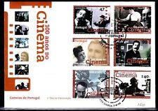 SELLOS TEMA CINE SOBRE MAT.ESPECIAL 1996 LISBOA 100 AÑOS DEL CINE PORTUGAL