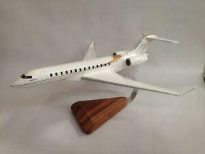 Bombardier Global 7500 BD-7500 Airplane Desktop Wood Model