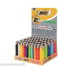 BIC MINI Feuerzeug MINIBIC  50 xReibrad J25 neutrale Farben sortiert 410