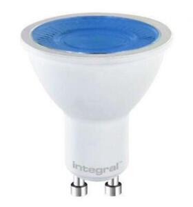 Integral LED 5W 220-240V GU10 40° 50mm Blue Coloured Spot Lamp (Non-Dim)