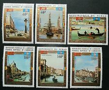 Chad 1972 UNESCO-Save Venice Set UM. SG 369/71.