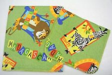 Madagascar Marty Baby Blanket Burp Cloth Set Can Be Personalized