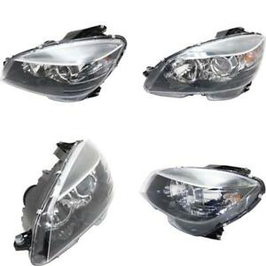 MB2502185 Headlight for 08-11 Mercedes-Benz C350 Driver Side