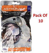 Set of 10 Ice Cream Sandwich NASA Astronaut Space Food