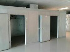 Beautiful Used 10' X 10' X 8' Walk In Cooler w/ Top Mount Refrigeration